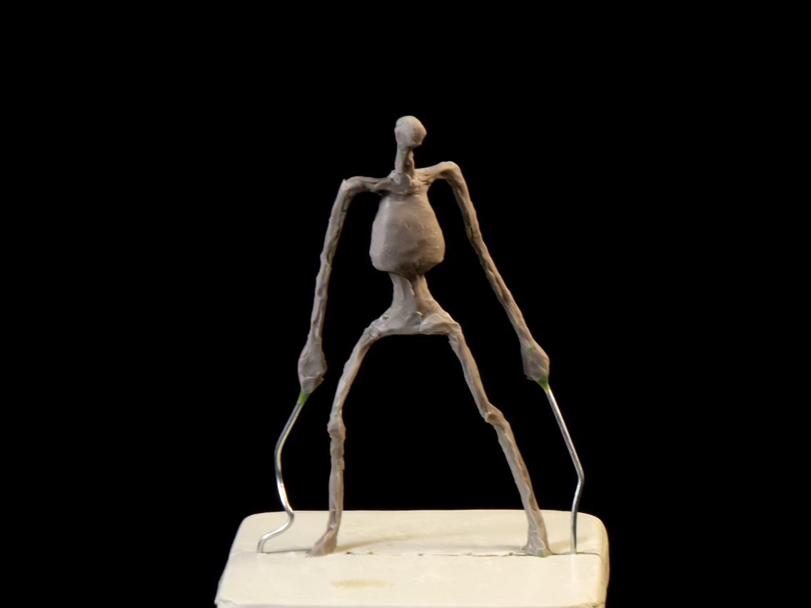 Sculptember2018 Skinning -1
