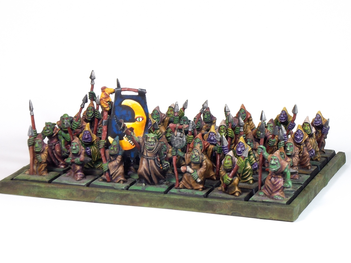 Cave Goblin Spear Unit Full